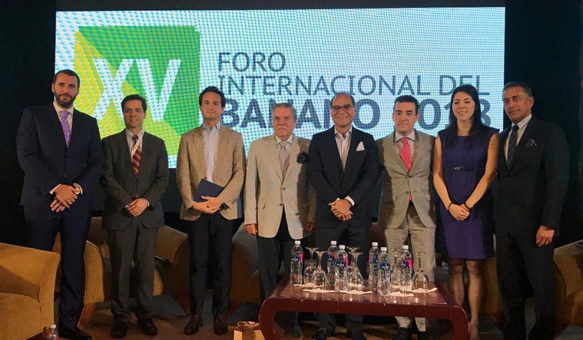 Presentación de la CLPG en el foro internacional del banano del año anterior.